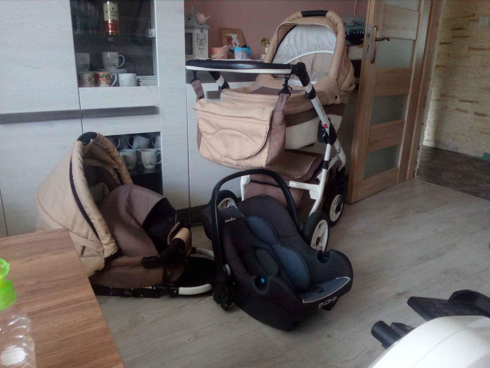 Sprzedam wózek 3 w 1 Małżewko - zdjęcie 1