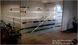 Folie okienne Nadarzyn-oklejanie szyb Folkos folie matowe idekoracyjne Nadarzyn - zdjęcie 1