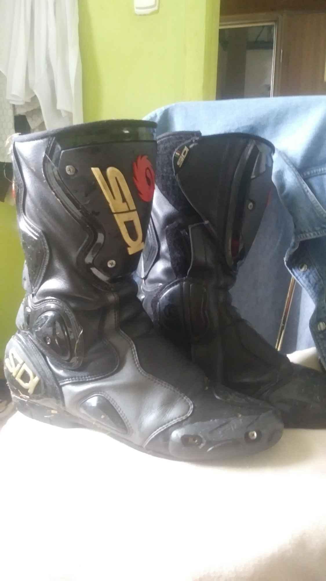 Sprzedam buty skórzane na motor Nowy Borek - zdjęcie 2
