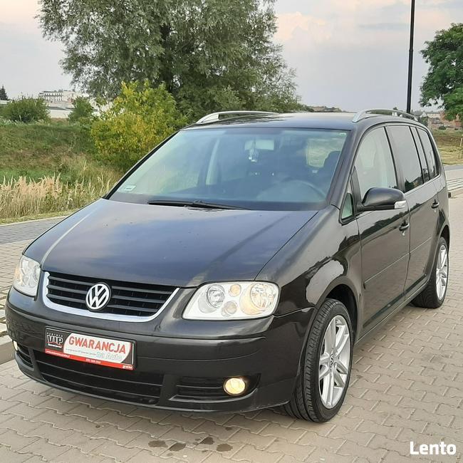 Volkswagen Touran 1.9Tdi*105KM*7 Osób*BKC*Gwarancja*PL-Rej.Rata 295zł Śrem - zdjęcie 3