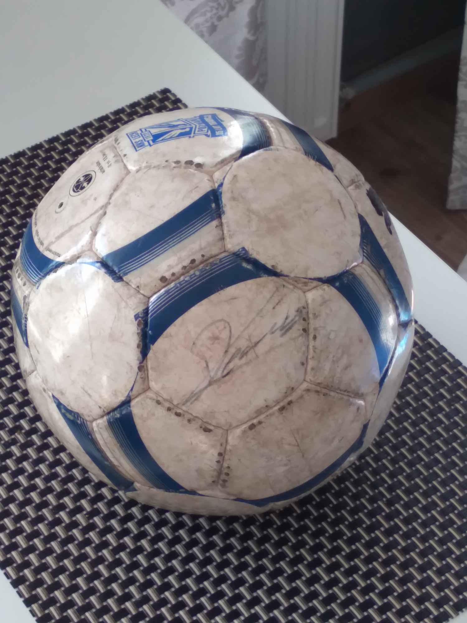 Unikatowa piłka z podpisem Roberta Lewandowskiego (RL9) Śródmieście - zdjęcie 1