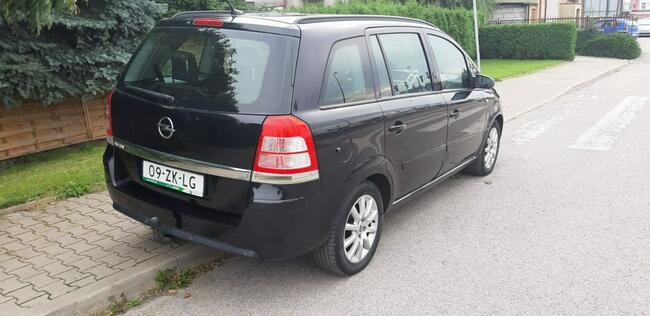 Opel Zafira Piękna Benzynka idealna do gazu 7 Miejsc LIFT Lublin - zdjęcie 4