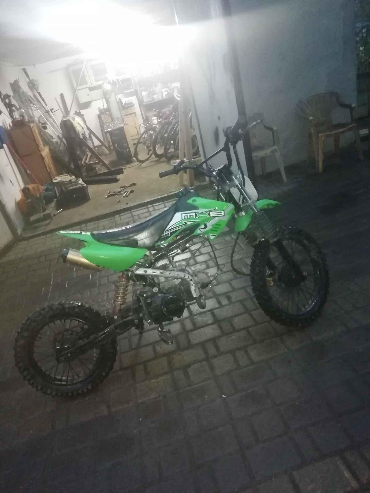 Cross pitbike110cm3 powiększona, wzmocniona rama nowe części Rzeszów - zdjęcie 5