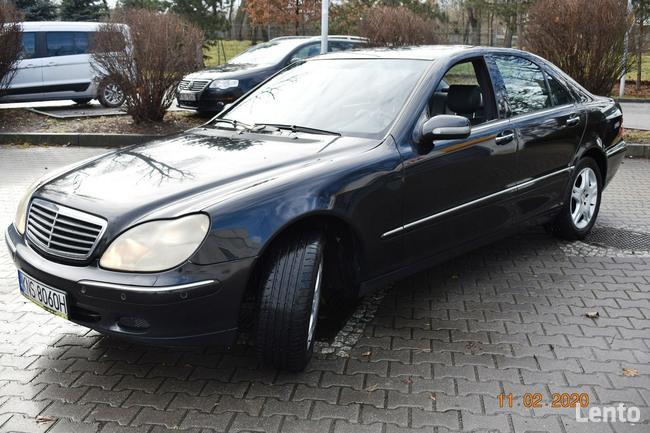 Mercedes W220  320 CDI - SALON POLSKA, KLIMA,XENNON,SKÓRY, NAVI Nowy Sącz - zdjęcie 3