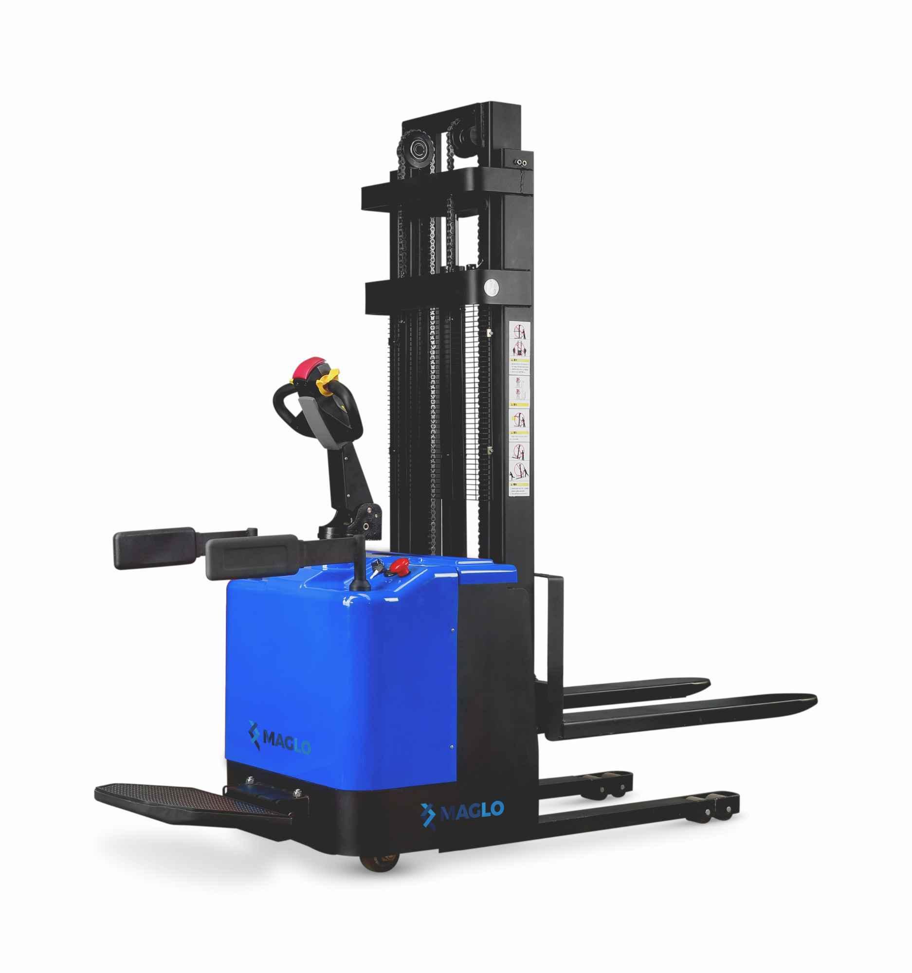 Akumulatorowy wózek podnośnikowy 1,5 wys. unoszenia 3,5 M Maglo Bałuty - zdjęcie 1