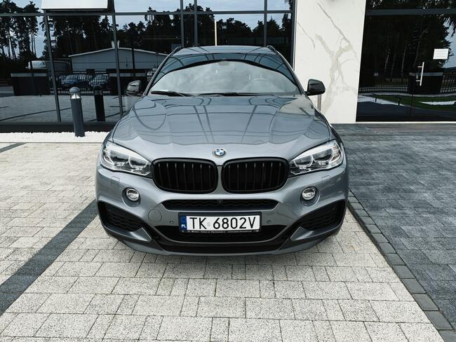 * BMW X6 XDRIVE40D * MSPORT* 313KM * 2018/2019 * 3.0 DIESEL Skórnice - zdjęcie 8