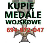 Kupię wojskowe stare odznaczenia,odznaki,medale,ordery Słubice - zdjęcie 1