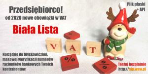 Biała Lista VAT - program dla przedsiębiorców Stalowa Wola - zdjęcie 1