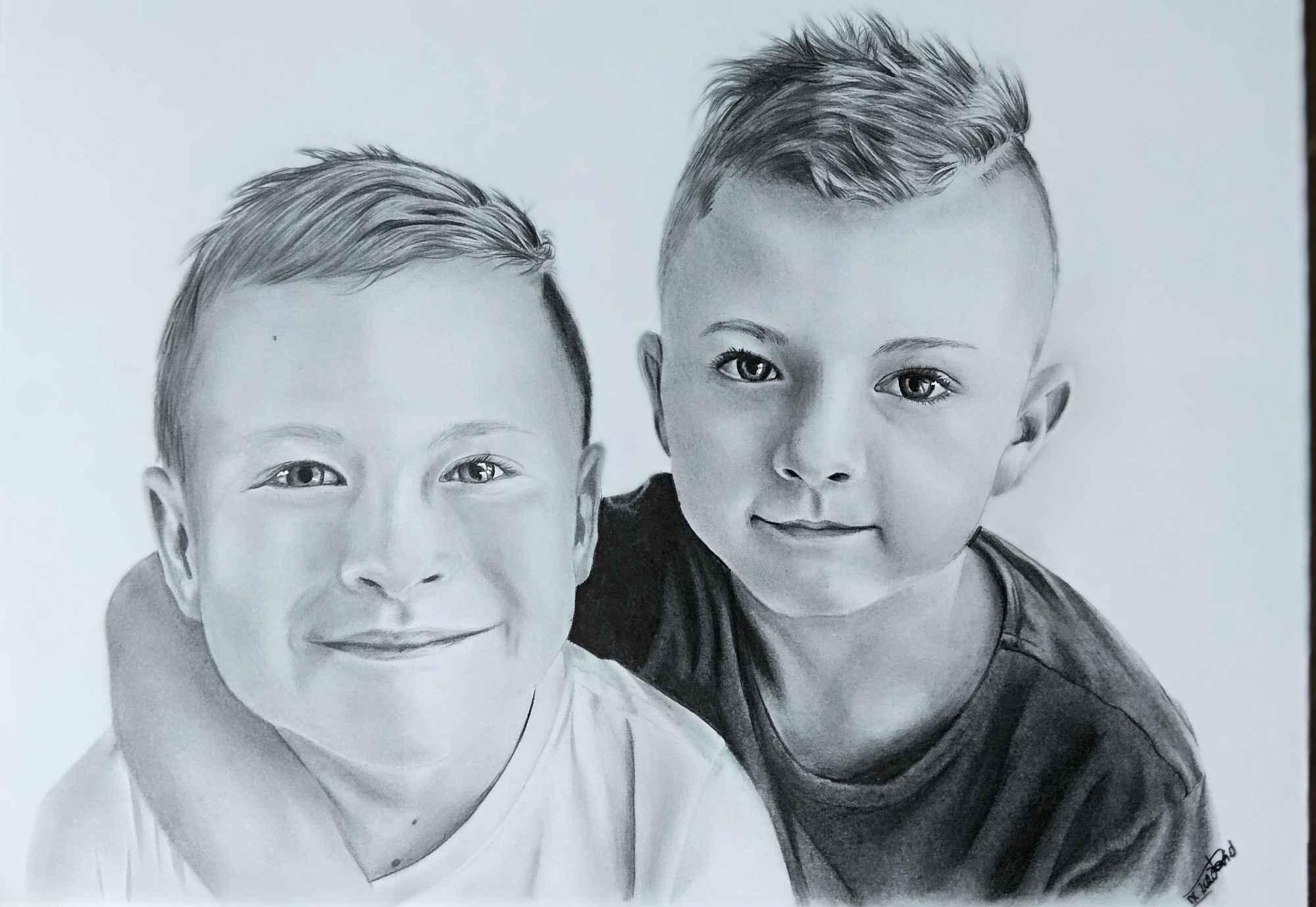Portrety ze zdjęć na zamówienie format A4 Bukowsko - zdjęcie 3