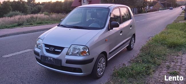 Hyundai Atos 1,1 benzyna 59KM 88100km 2006r zarejestrowany Skarżysko-Kamienna - zdjęcie 2