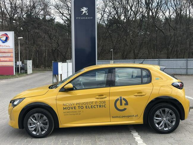 Peugeot 208 elektryk , super cena ,auto demonstracyjne Łódź - zdjęcie 2