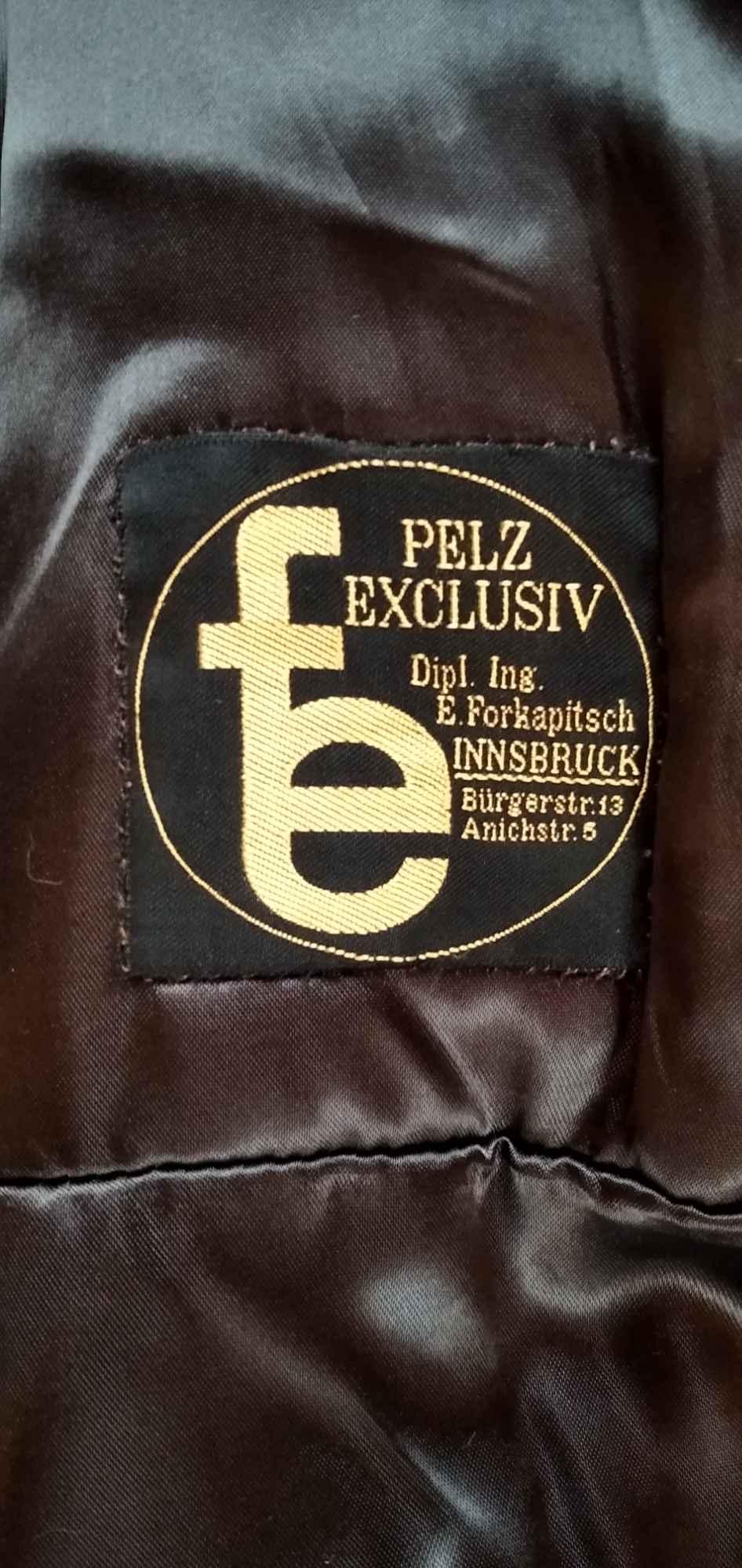 Sprzedam nową ,z naturalnego futra ,brązową kurtkę z nutrii Gdynia - zdjęcie 3