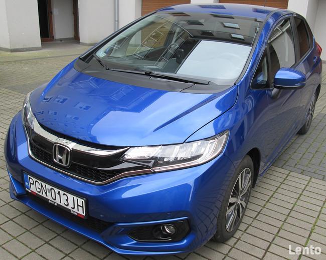 Honda Jazz Elegance 1,3 i-VTEC automat CVT niebieski metalik Gniezno - zdjęcie 1