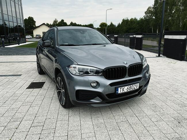 * BMW X6 XDRIVE40D * MSPORT* 313KM * 2018/2019 * 3.0 DIESEL Skórnice - zdjęcie 1