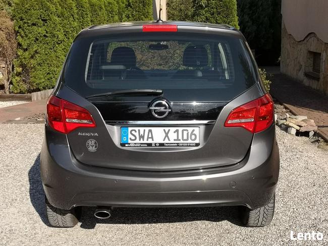 Opel Meriva 1.4T 2011r, Bogata Opcja, Przebieg 120tys, Półskóra, Chrom Radom - zdjęcie 5