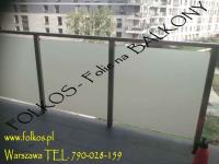 Folie na balkon-Oklejanie balkonów Błonie,Ożarów Mazowiecki i okolice Błonie - zdjęcie 7