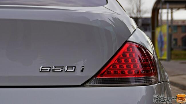 BMW 650 Japonia - Individual - Niski przebieg - Gwarancja Raty Zamiana Gdynia - zdjęcie 9
