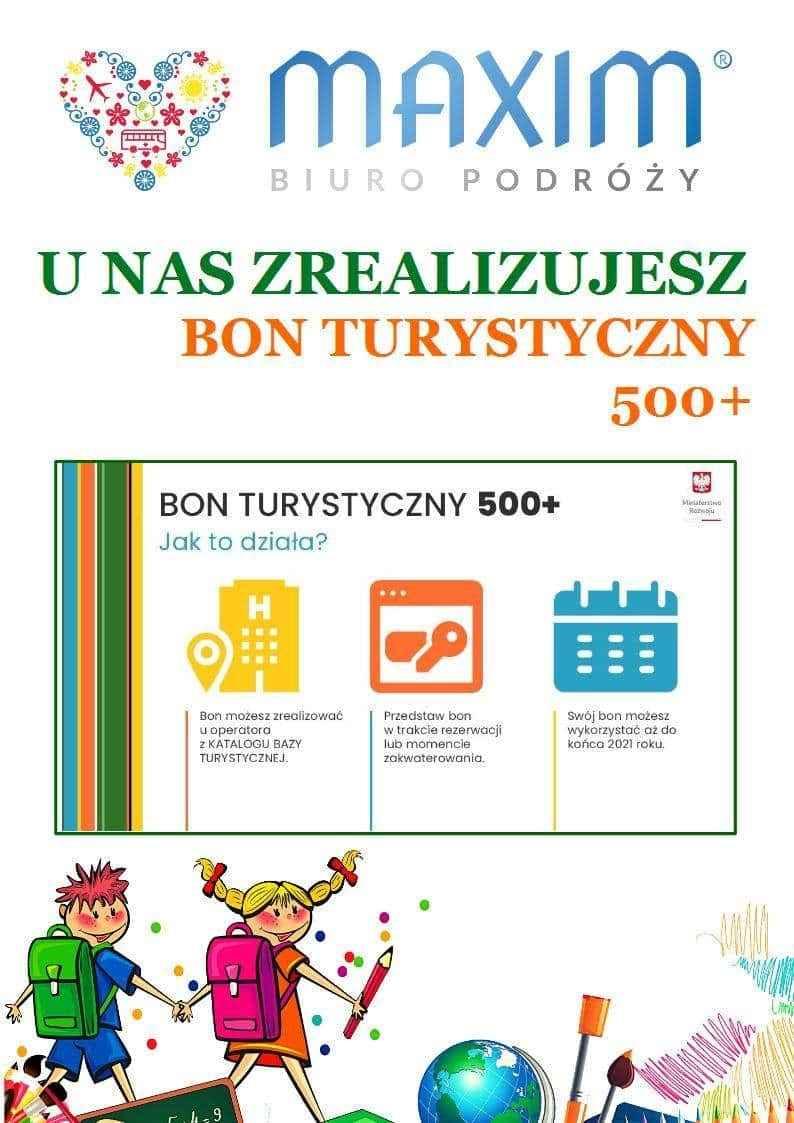 Realizacja bonu turystycznego 500 + w Maximie Nowy Sącz - zdjęcie 1