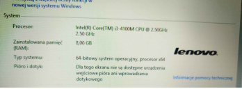 Lenovo G510 15 cali, 8GB RAM, 120GB SSD, CD/DVD, HDMI, 3xUSB Praga-Południe - zdjęcie 6