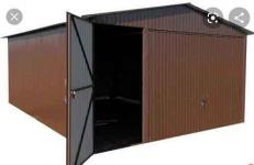 Garaż blaszany 3x5 4x6 6x5 GARAŻE wzmocnione CAŁA POLSKA szybki termin Śródmieście - zdjęcie 12