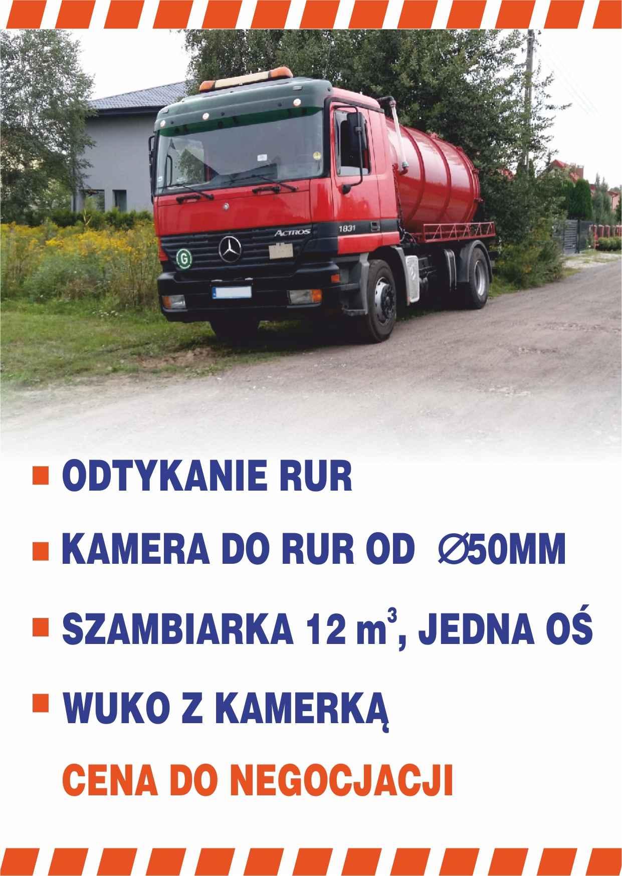 odtykanie rur kanalizacji, Wuko Pomoc kanalizacyjna monitoring kamerą Wołomin - zdjęcie 11