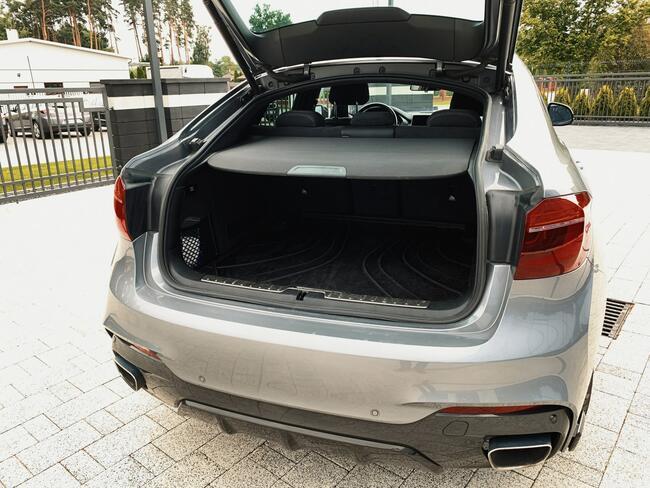 * BMW X6 XDRIVE40D * MSPORT* 313KM * 2018/2019 * 3.0 DIESEL Skórnice - zdjęcie 12