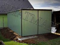 Garaze blaszane, blaszaki, schowki budowlane, wiaty, hale. Kielce - zdjęcie 1