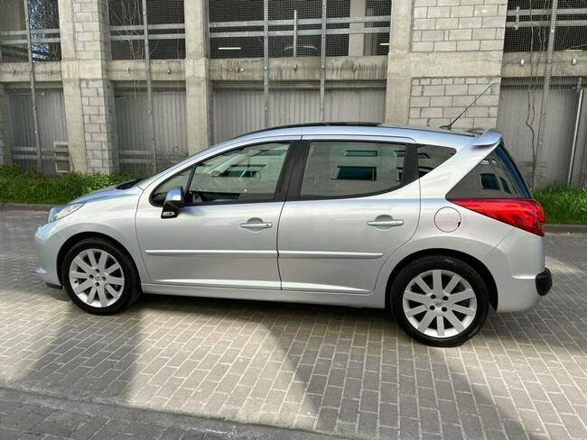 Peugeot 207 SW GTI 1.6T Manual Klima Skóra PDC Lublin - zdjęcie 3