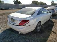 Mercedes CL 600 2008, 5.5L, uszkodzony tył Słubice - zdjęcie 3