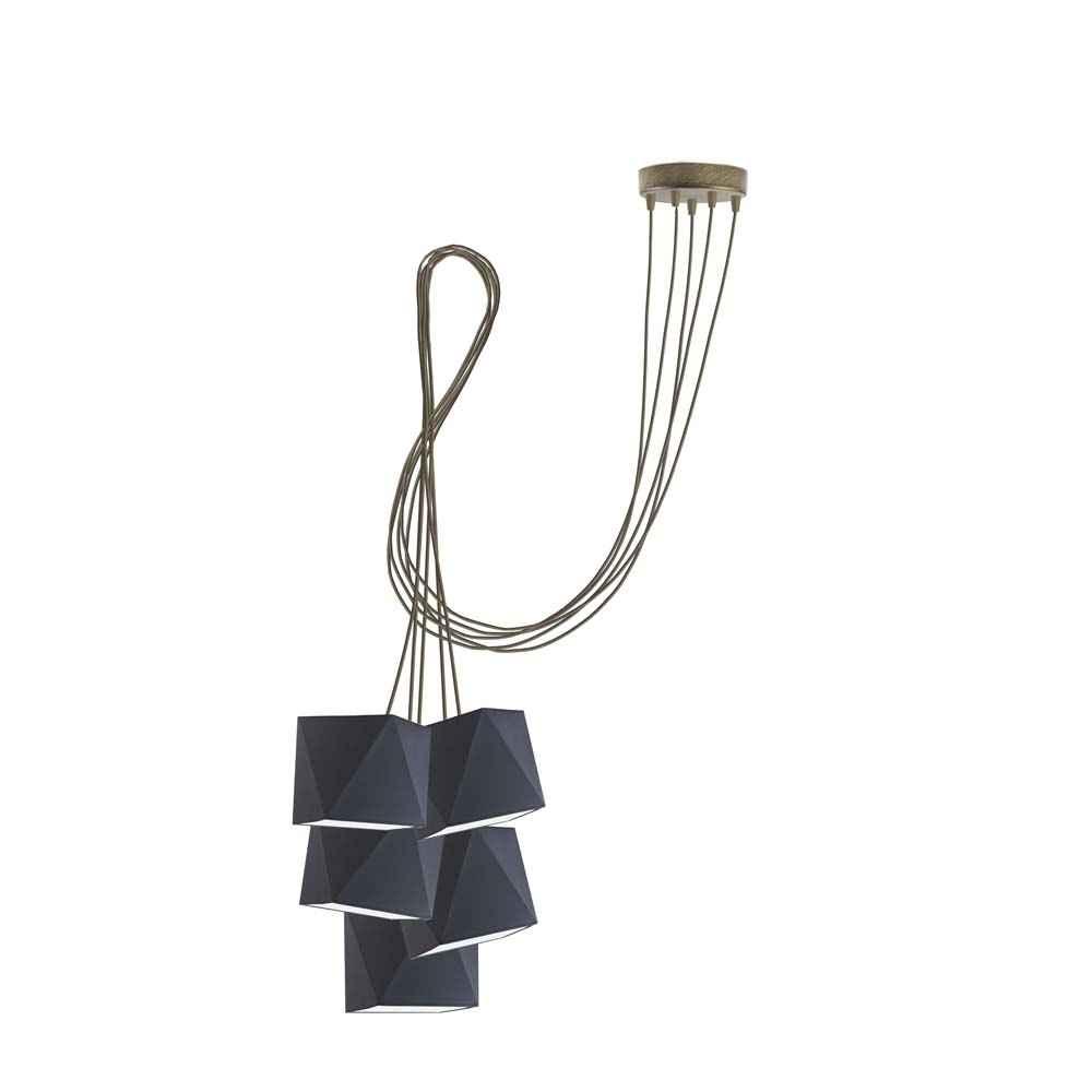 Lampa sufitowa wisząca abażur diament POP! Częstochowa - zdjęcie 2