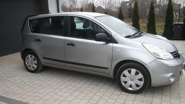 Nissan Note 1,4 benzyna 2011r Salon oryginał Płock - zdjęcie 4