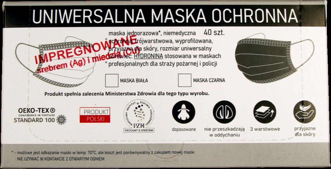 MASKI MASECZKI 40 SZT NANOSREBRO NANOSREBREM ATEST Tarnów - zdjęcie 4