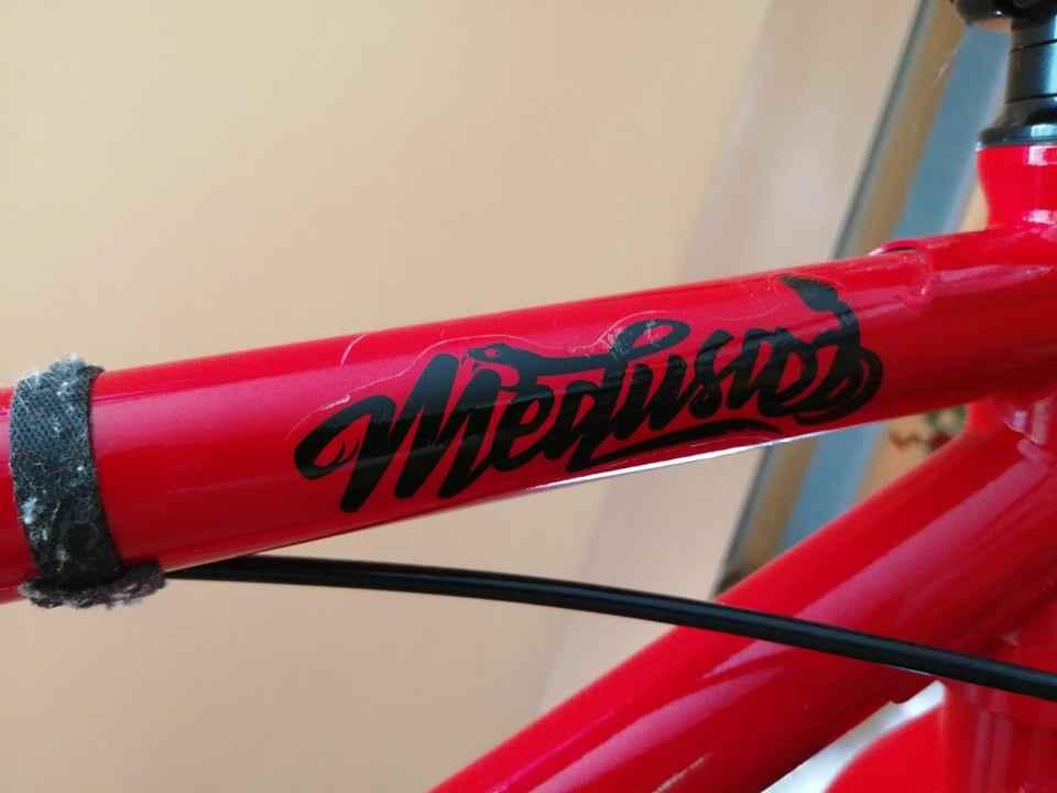 Rower BMX mafiabikes Medusa Czerwony Ustka - zdjęcie 4