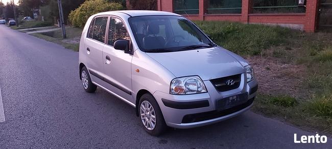 Hyundai Atos 1,1 benzyna 59KM 88100km 2006r zarejestrowany Skarżysko-Kamienna - zdjęcie 1