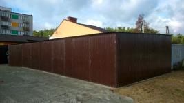 Garaze blaszane, blaszaki, schowki budowlane, wiaty, hale. Kielce - zdjęcie 9