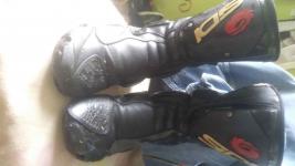 Sprzedam buty skórzane na motor Nowy Borek - zdjęcie 1