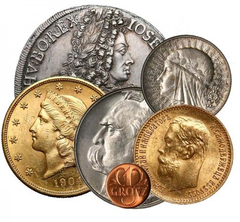 Skup sprzedaż monet złotych Medali srebro innych złomu złota Katowice - zdjęcie 1