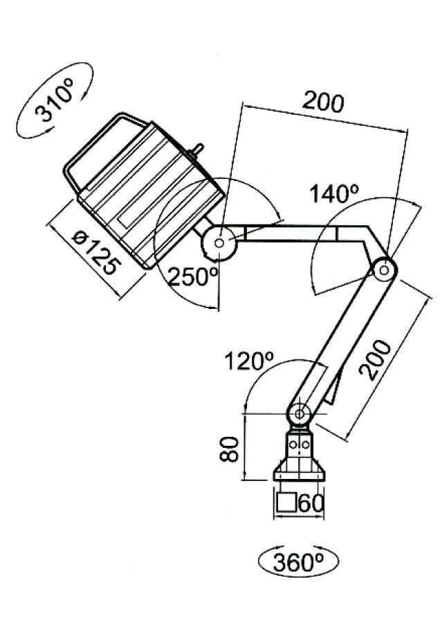 LAMPY LED-1 LED-2 LED-3 DO TOKAREK FREZAREK WIERTAREK Fabryczna - zdjęcie 5