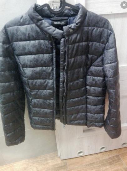 Pikowana kurtka na jesień S Elbląg - zdjęcie 1