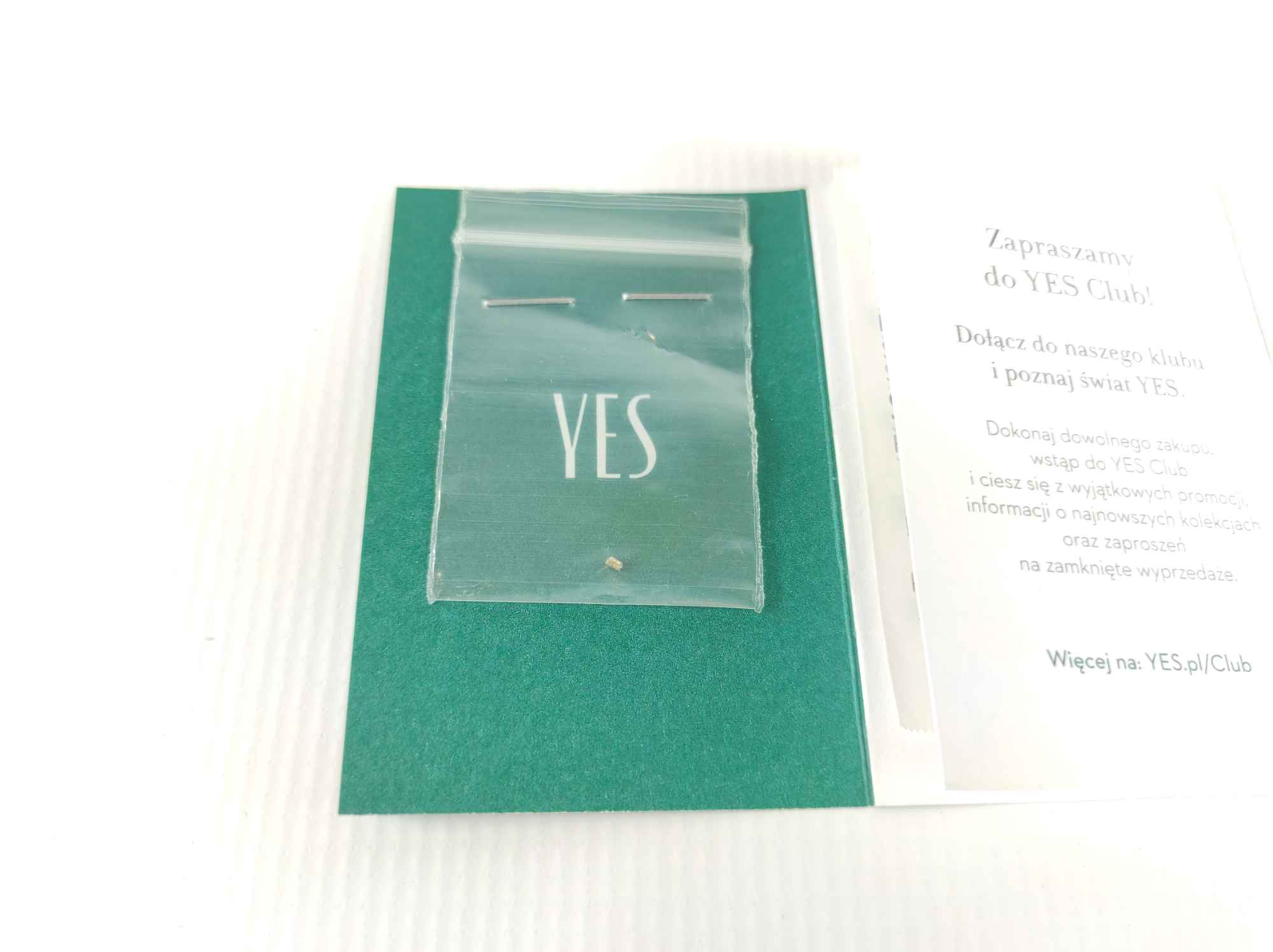 Pierścionek zaręczynowy złoty z diamentem YES z kolekcji Eternel r15,5 Mińsk Mazowiecki - zdjęcie 7