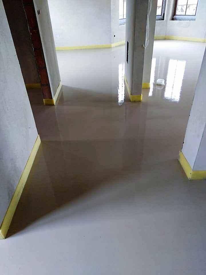 Posadzki maszynowe cementowe oraz anhydrytowe. Słupca - zdjęcie 6