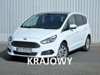 Ford S-Max 2.0 150KM. Powershift. Krajowy. FVAT. Częstochowa - zdjęcie 1