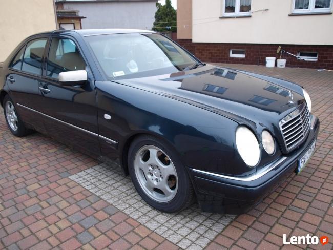 Mercedes E 290 2.9 Turbodiesel AVANTGARDE 1998r Kalisz - zdjęcie 3