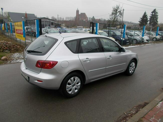 Mazda 3 Opłacona Zdrowa Zadbana Serwisowana Klimatyzacją 1Wł 100 Aut Kisielice - zdjęcie 4