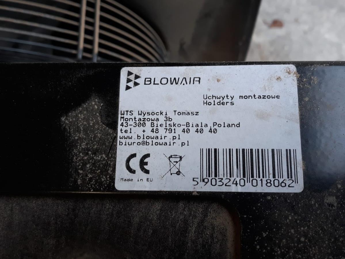 Nagrzewnice wodne Blowair 59kW S4 Praga-Południe - zdjęcie 4