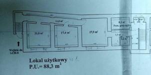 Staszica, lokal biurowy, 88m2, 3 pomieszczenia! Lublin - zdjęcie 5
