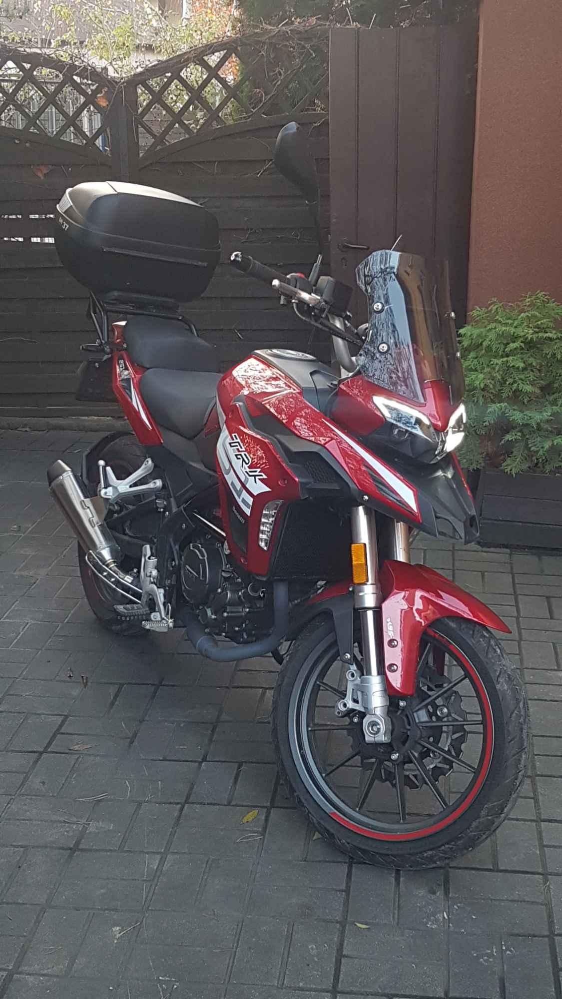 Sprzedam motocykl Benelli Trk251 Psie Pole - zdjęcie 1