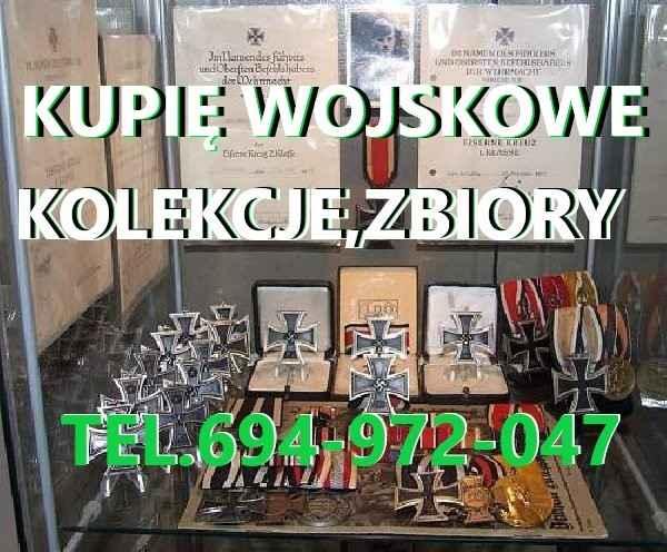 KUPIĘ WOJSKOWE STARE KOLEKCJE,ZBIORY TELEFON 694972047 Fabryczna - zdjęcie 1