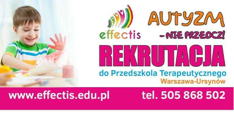 Effectis - PRZEDSZKOLE TERAPEUTYCZNE dla dzieci z autyzmem Ursynów - zdjęcie 1