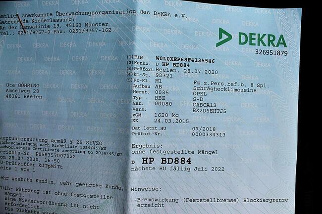 Opel Corsa 1.2 70KM!2015r!101Tys.km!Klimatyzacja!Stan bdb!Opłacona! Łask - zdjęcie 7